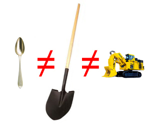 unequalshovels