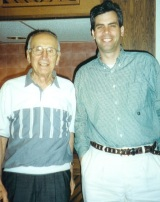 Alchian and me, circa 2000.